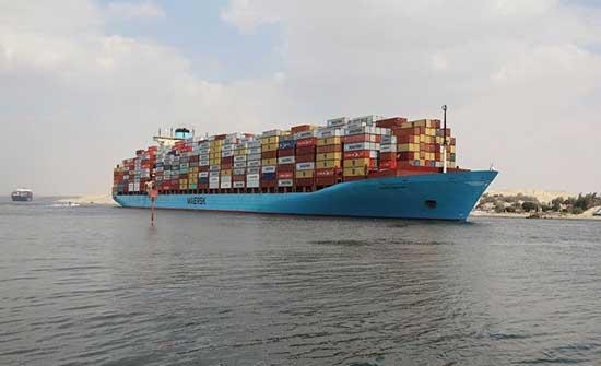"""هيئة قناة السويس: عبور جميع السفن المتأخرة بسبب حادثة """"إيفر غيفن"""""""