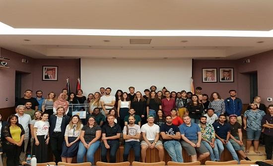 لقاء تعريفي للطلبة الألمان المُلتحقين بالجامعة الألمانية الأردنية