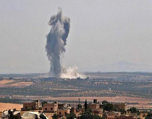 إدلب.. عشرات القتلى في قصف استهدف تجمعا لمتطرفين