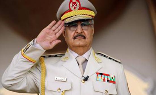 المدعي العام العسكري لحكومة الوفاق يصدر أمرا جديدا بالقبض على حفتر