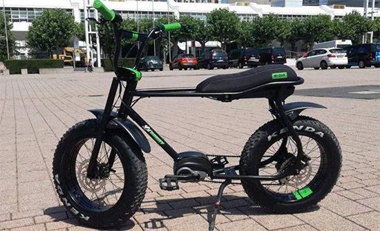 شركة ألمانية تطرح دراجة هوائية كهربائية