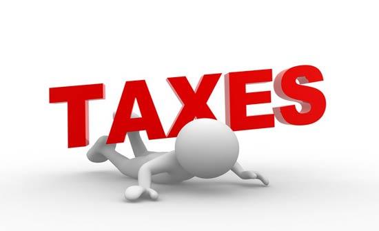 الإيرادات الضريبية تسجل أكبر انخفاض في 2019