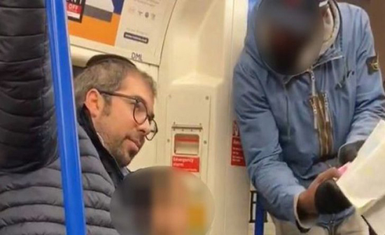 يهودي يطلب مقابلة مسلمة دافعت عن أسرته في مترو أنفاق