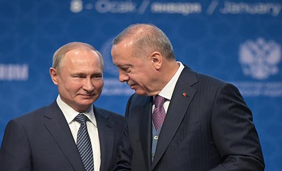 بوتين وأردوغان يؤكدان ضرورة الحل السلمي في قره باغ