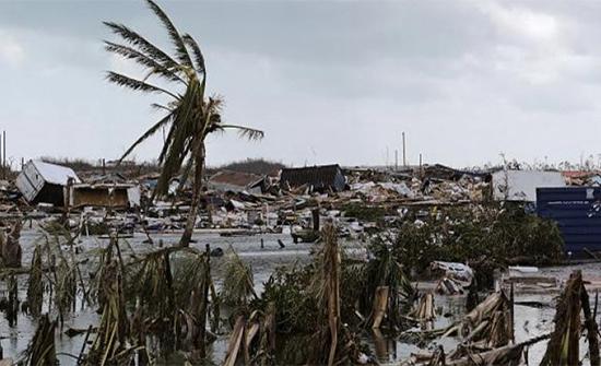 الاعصار دوريان يضرب أربع ولايات أمريكية