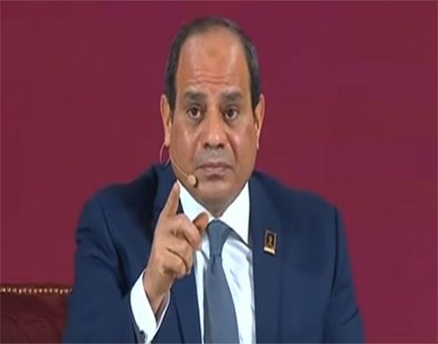 السيسي يتحدث عن قضية مصر الأولى وموقف البلاد من الحرب