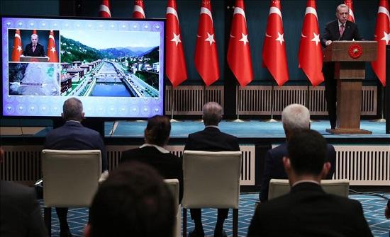 أردوغان: عظمة تركيا لا تقاس ماديا فحسب بل في مواقفها الإنسانية