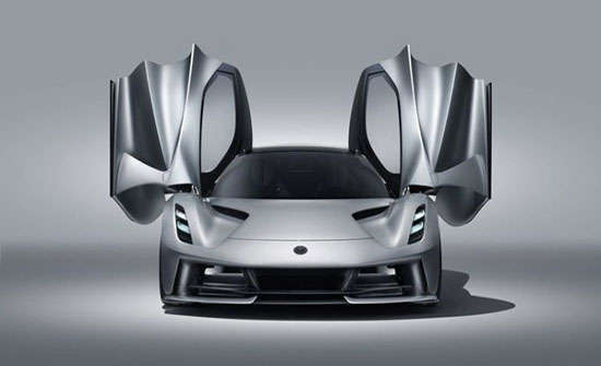 """صور : """"لوتس"""" تكشف عن سيارة كهربائية خارقة يتجاوز سعرها مليوني دولار"""