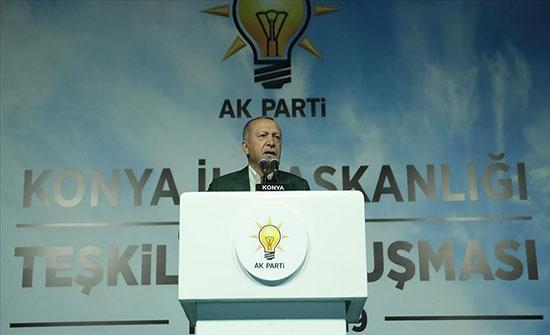 أردوغان: المستجدات في سوريا وشرق المتوسط مصيرية لتركيا