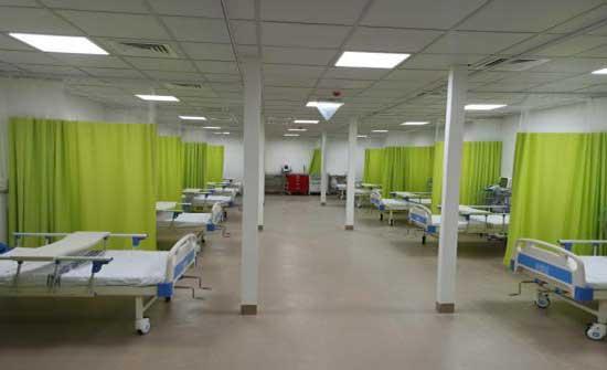 75 حالة كورونا في مستشفى إربد الميداني