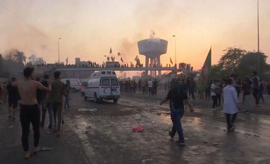بالفيديو :  انقطاع خدمة الإنترنت عن عدة مناطق بالعراق بينها بغداد وسط احتجاجات واسعة النطاق
