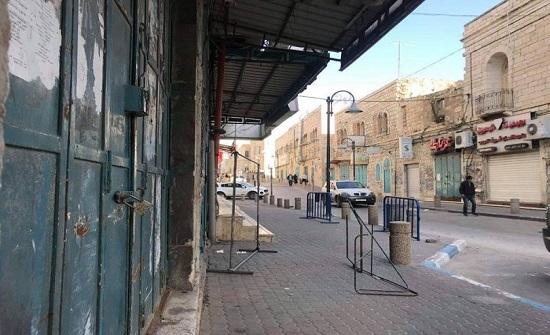 اضراب شامل في بيت لحم حدادا على استشهاد اسير فلسطيني