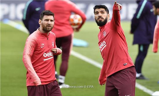 برشلونة يخوض موقعة فالنسيا بالثلاثي الناري