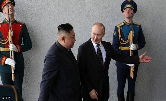 """بوتن يهدي كيم جونغ أون """"وسام النصر"""""""