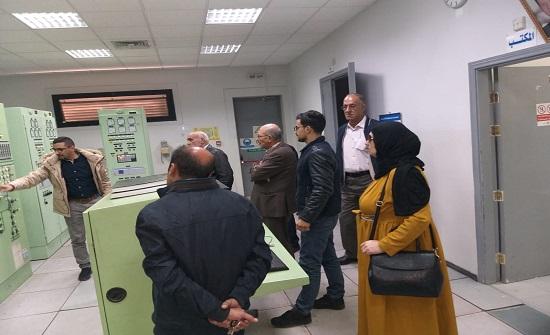مهندسو عجلون ينظمون زيارة علمية لمركز المراقبة في شركة الكهرباء الوطنية