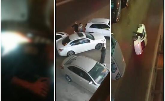 شاهد: ثلاثة لصوص يسرقون جوال آيفون جديد من مندوب شركة توصيل في الرياض