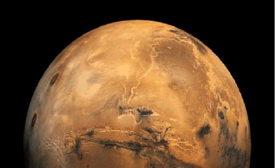مركبة صينية تهبط على سطح المريخ
