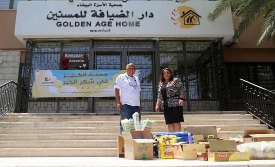 """""""المهندسين"""" تختتم حملة الخير في شهر الخير بتوزيع اكثر من 300 طرد غذائي على الاسر العفيفة"""