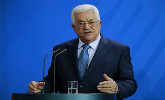 الرئيس الفلسطيني يتسلم رسالة من الرئيس الأميركي
