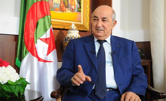 الرئيس الجزائري يوقع مرسوما رئاسيا بحل المجلس الشعبي الوطني