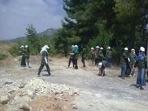 انطلاق فعاليات معسكر المرشدات المتقدم ( الصحي ) بمشاركة 55 مشاركة من مختلف محافظات المملكة