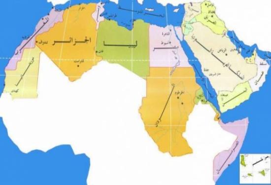 اسماء الدول العربية
