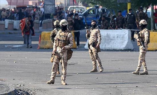 اصابة ستة من افراد الامن العراقي بتفجير عجلة