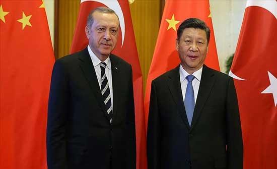 أردوغان يؤكد لنظيره الصيني أهمية أن يعيش الأويغور في حرية وسلام