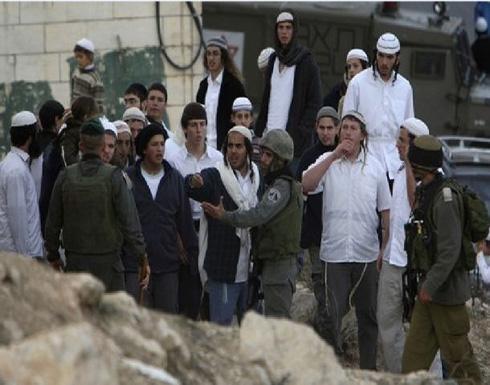 مستوطنون يهود يستولون على أراضي الأغوار الشمالية