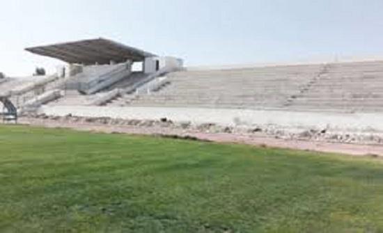 إنجاز 70 % من مراحل مشروع تأهيل المجمع الرياضي بالطفيلة