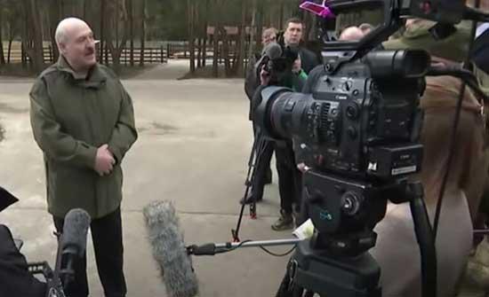 لوكاشينكو: لم أبحث مع بوتين إقامة قواعد روسية في بيلاروس