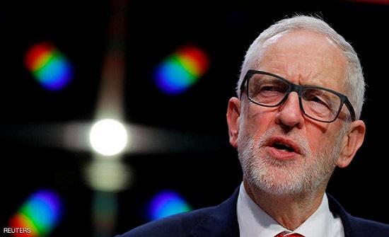 """""""إسرائيل"""" """"منزعجة"""" من زعيم المعارضة البريطانية"""