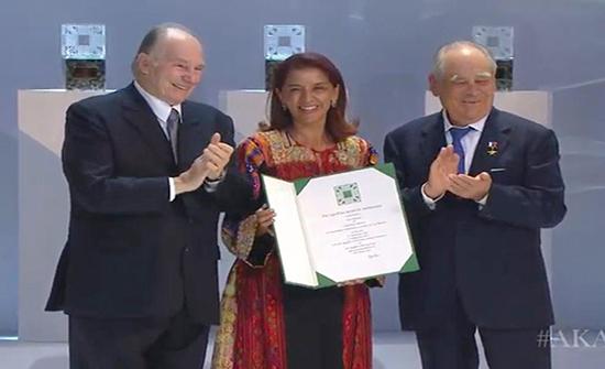 المتحف الفلسطيني يتسلم جائزة الآغا خان للعمارة 2019