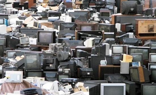 الأردن : 8.7 مليون جهاز إلكتروني وكهربائي ألقيت كنفايات ناتجة من المنازل
