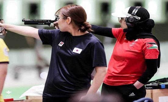 لاعبة الرماية أبو ربيع تنهي مشاركتها في أولمبياد طوكيو