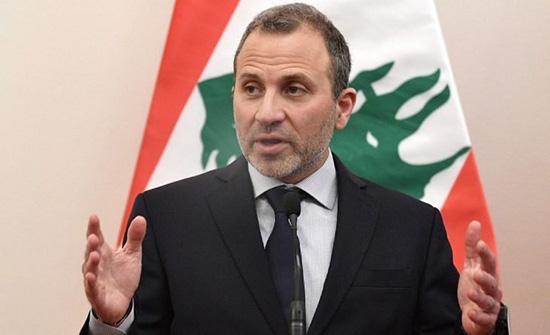 لبنان: باسيل يدعو إلى الإسراع في تشكيل حكومة اختصاصيين برئاسة الحريري