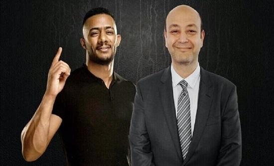 عمرو أديب يستأنف على حكم تغريمه لصالح محمد رمضان
