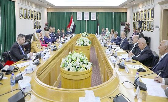 الأعيان يبحث مع وزير العمل العراقي التعاون المشترك
