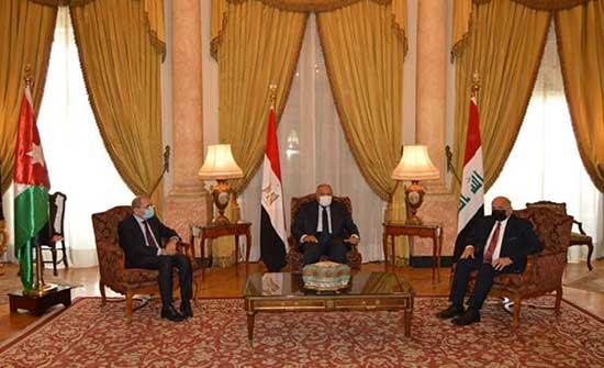 وزير الخارجية ونظيراه المصري والعراقي يشاركون بالاجتماع التحضيري لاجتماع القادة الرابع
