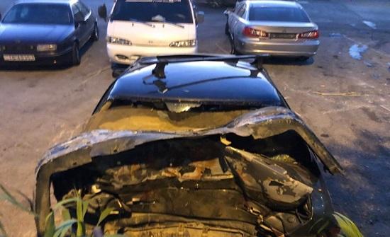 وفاة واصابتان من عائلة واحدة اثر حادث سير في ناعور