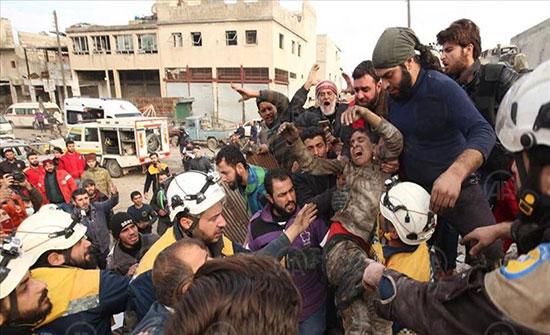 """مجلس الأمن و الاتحاد الأوروبي يتابعون """"بقلق بالغ"""" نزوح المدنيين من إدلب"""