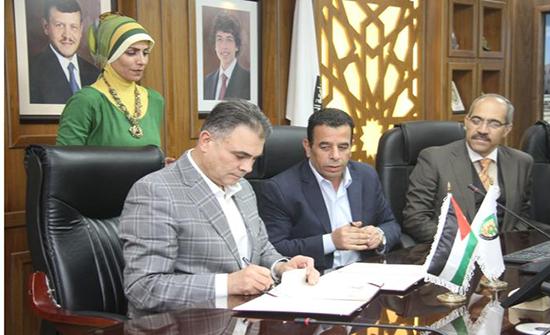 اتفاقية تعاون بين البلقاء التطبيقية ووزارة المياه لاستخدام محطة معالجة المياه العادمة