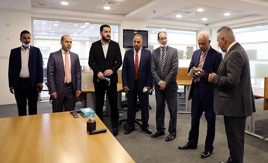 التوجيه الوطني و الإعلام و الثقافة النيابية تزور معهد الإعلام الأردني