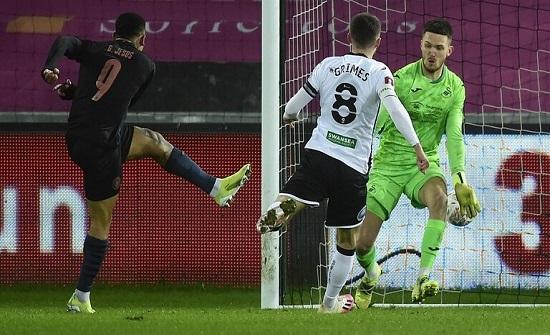 مانشستر سيتي يتأهل إلى ربع نهائي كأس الاتحاد الإنجليزي (فيديو)