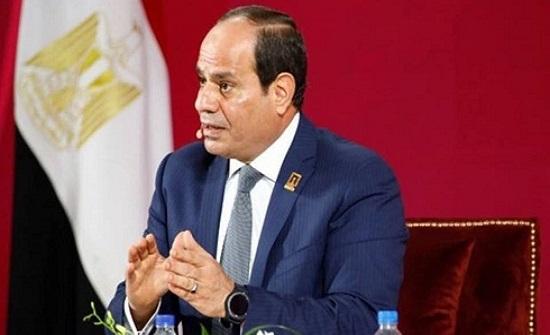 """السيسي يطالب برد حاسم وجماعي على """"الدول الداعمة للإرهاب"""""""
