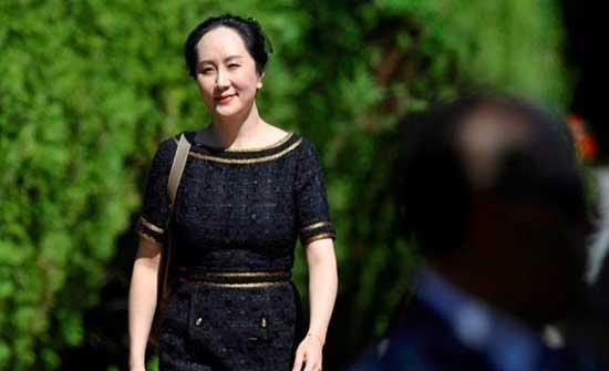 """قاضية كندية تأمر بإطلاق سراح المديرة المالية لشركة """"هواوي"""""""