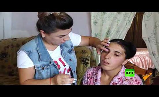 فيديو : امرأة ارمينية حين تبكي ينهمر الألماس
