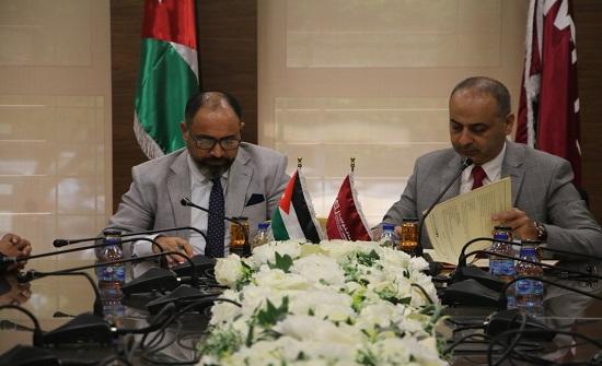 """جامعة الشرق الأوسط توقع اتفاقية تعاون مشتركة مع """"جمعية المركز الوطني للعدالة البيئية"""""""