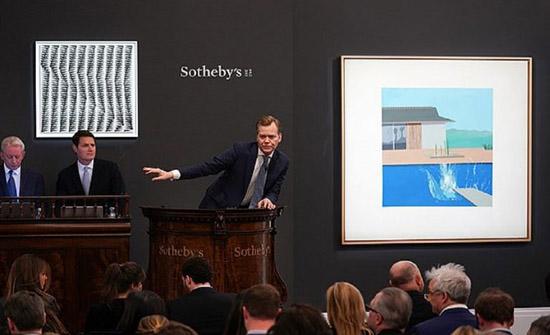 """بـ 8 أضعاف سعرها.. بيع """"لوحة الغطس"""" لديفيد هوكني بـ29.8 مليون دولار (صور)"""