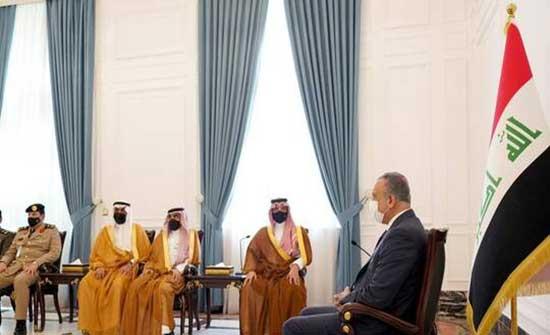 الكاظمي يستقبل وزير الداخلية السعودي ويبحث معه ملف مكافحة الإرهاب